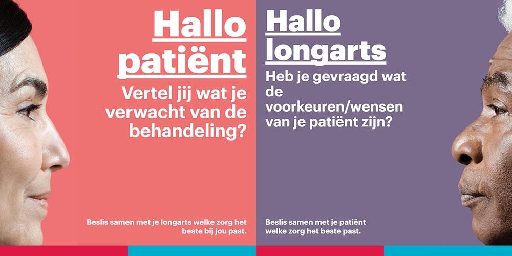 Samen beslissen, patient en arts
